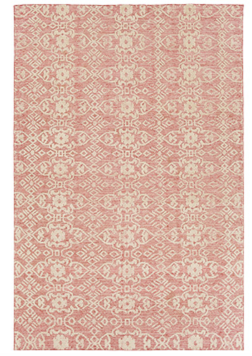 PAIGE 4' X 6' HAND KNOTTED RUG IN POPPY