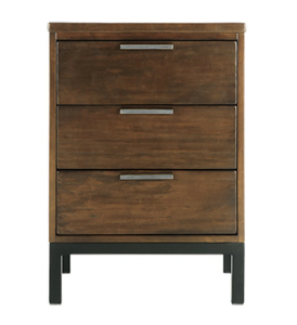 PALMER NIGHTSTAND IN BALI BROWN