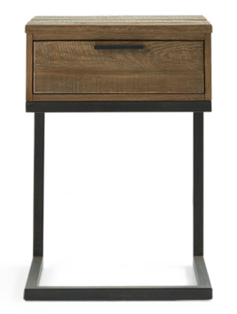 PALMER STORAGE NIGHTSTAND IN NATURAL OAK